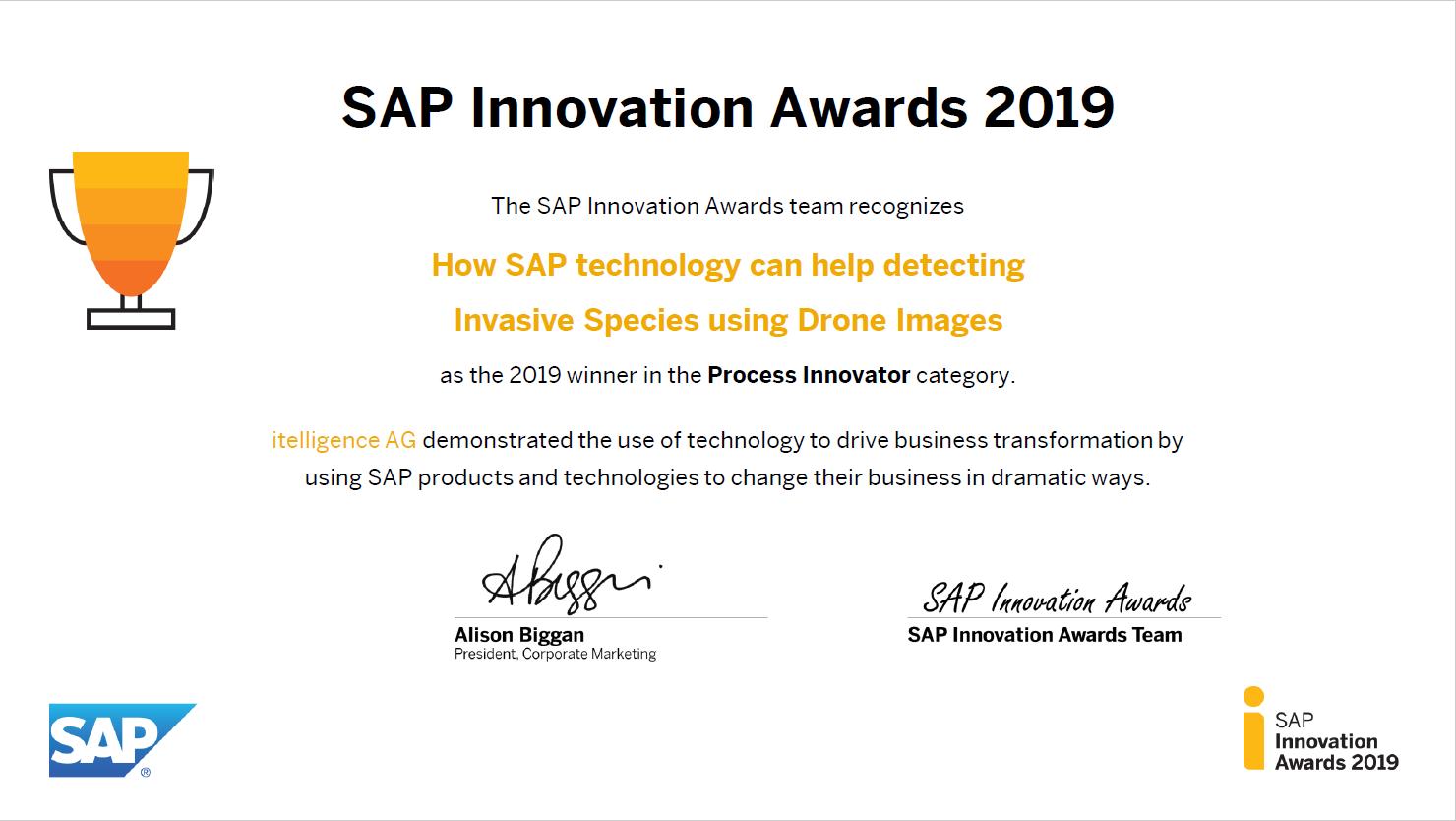 sap award
